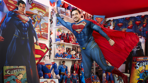 Largest collection of superman memorabilia 3