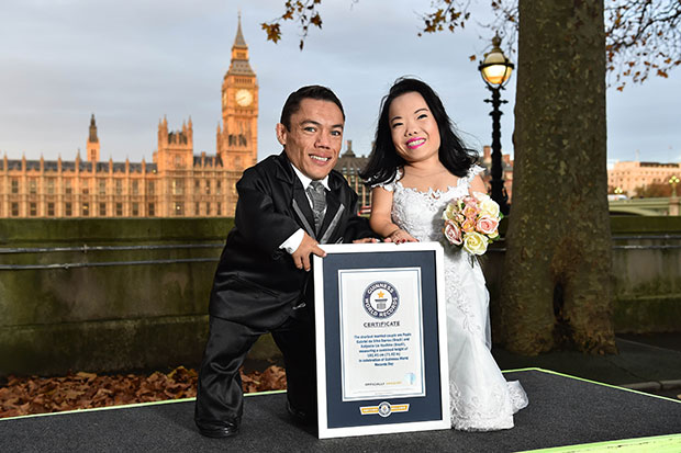 Shortest married couple GWR certificate
