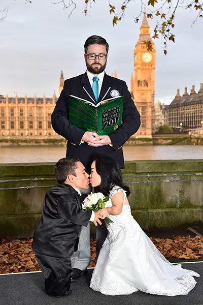 Shortest married couple London GWR