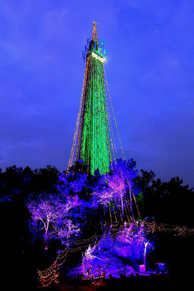 Largest artificial christmas tree