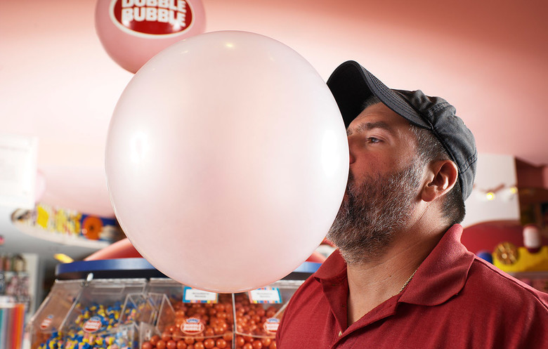 Largest bubblegum bubble blown
