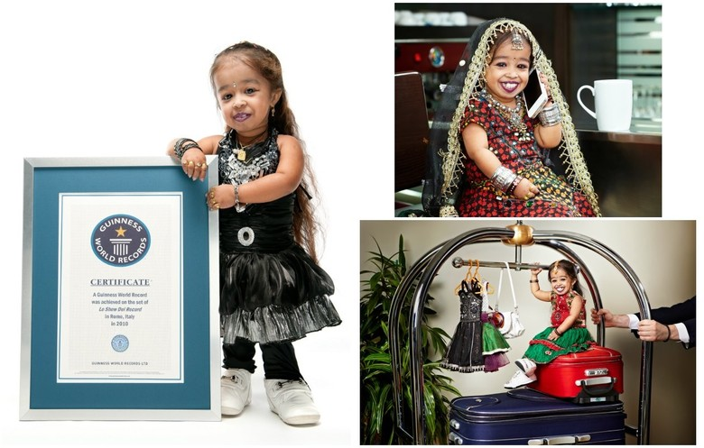 Shortest woman - living (mobile)